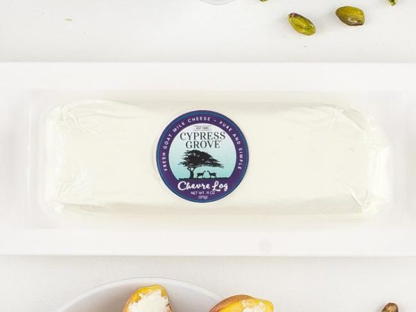 Chevre Log Packaging Photo