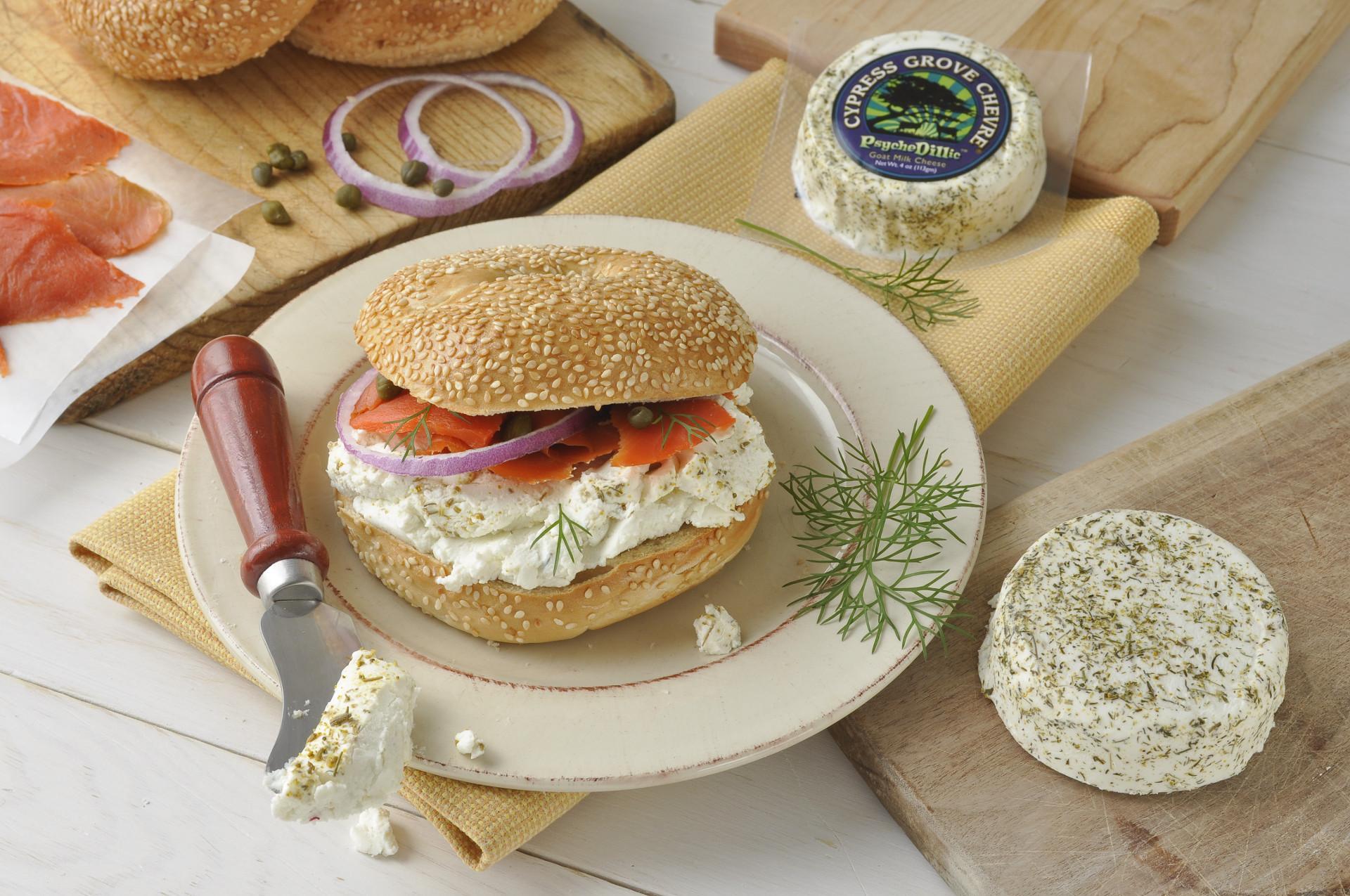 PsycheDillic® Bagel Sandwich Recipe