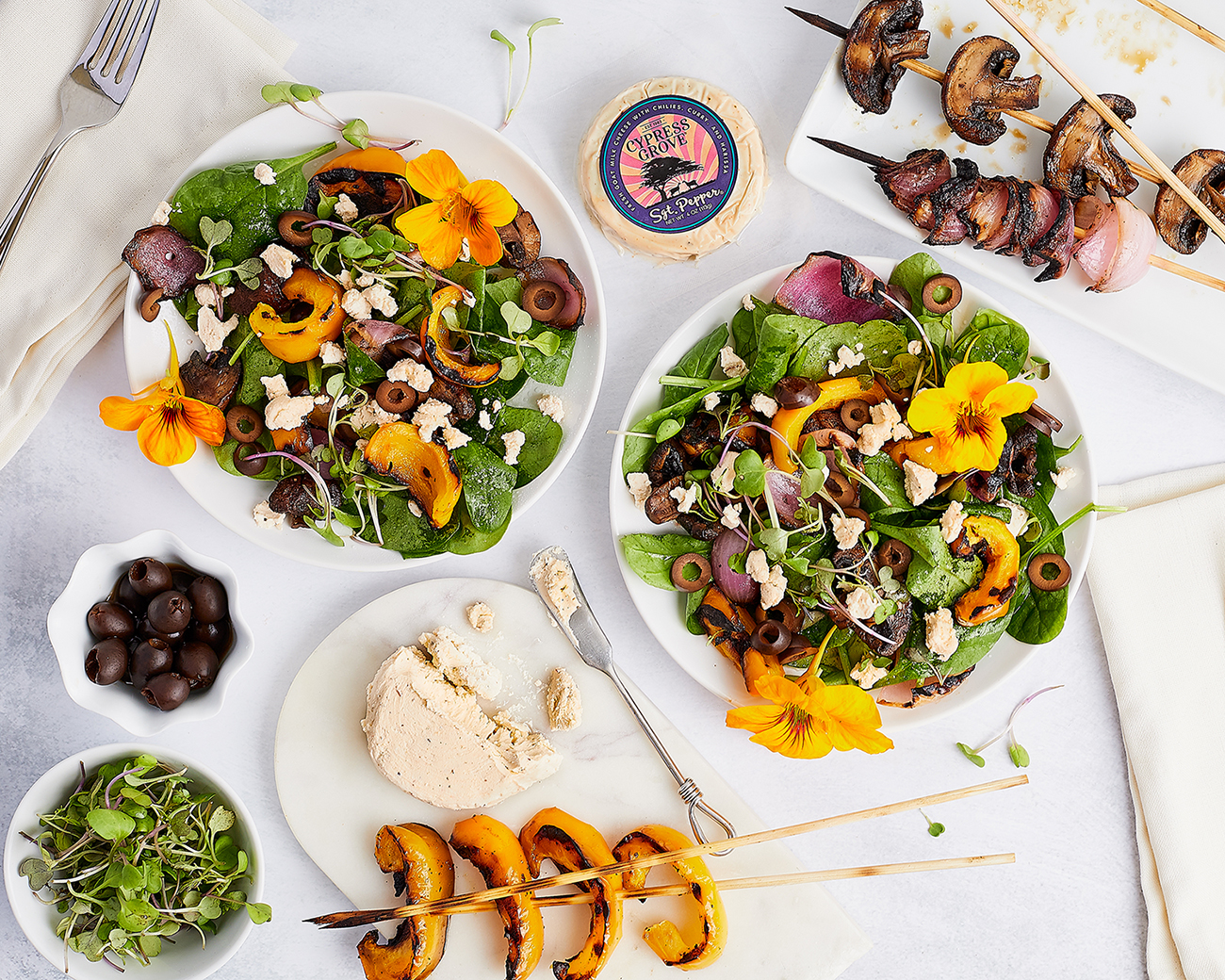 Sgt. Pepper® Grilled Vegetable Salad