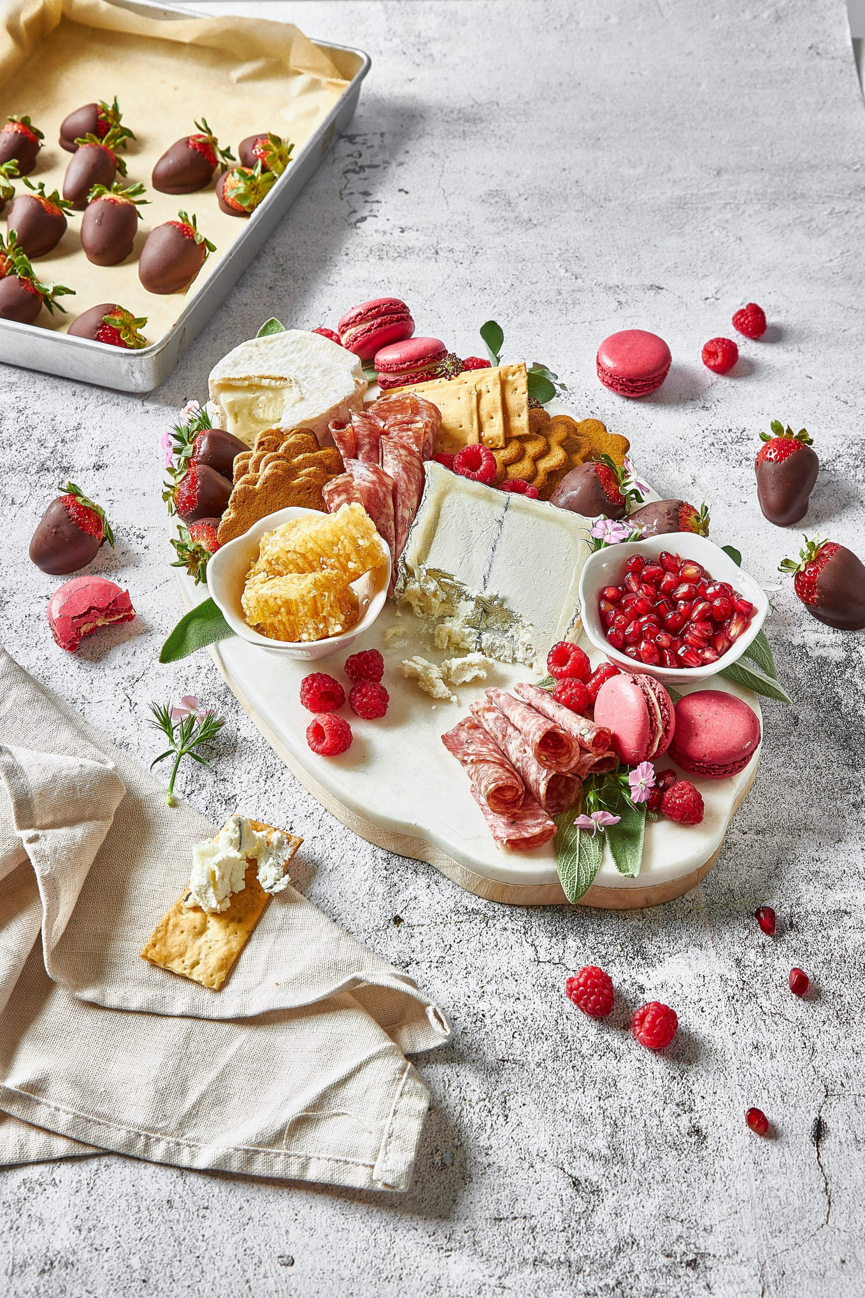 Valentine's Cheeseboard for Dessert
