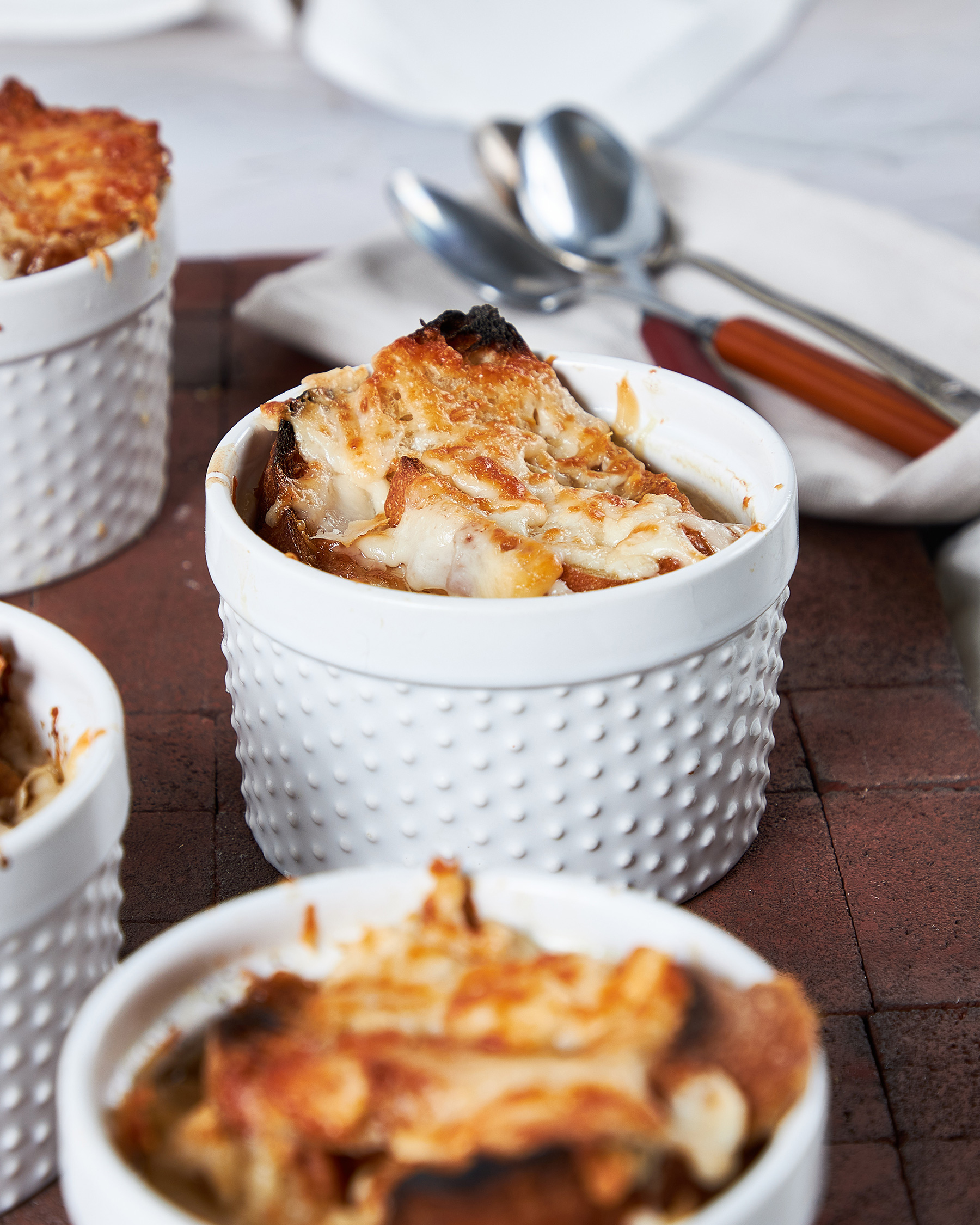 French Onion Soup with Melty Midnight Moon®